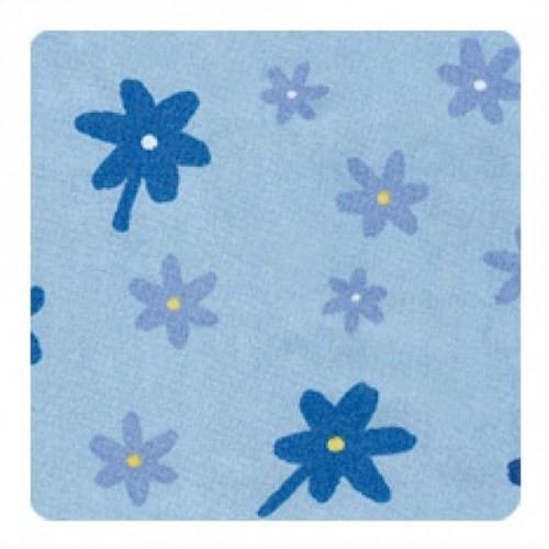 Theraline Emzirme Yastığı Klasik Çiçekli Mavi