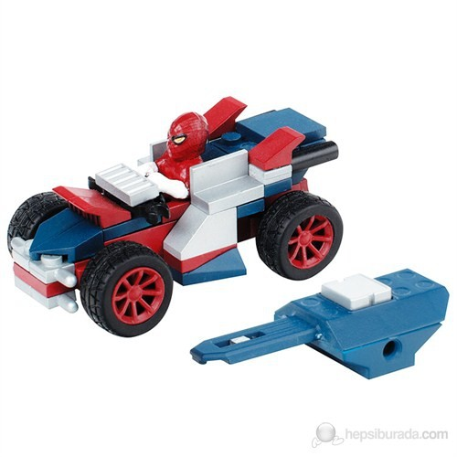 Mega Bloks The Amazing Spiderman Racer Oyun Seti