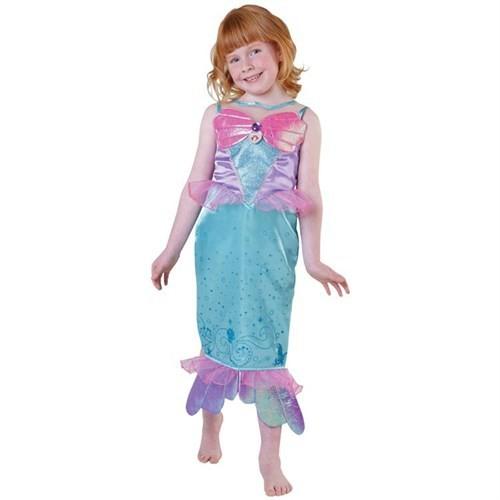 Deniz Kızı Prenses Ariel Çocuk Kostüm 3-4 Yaş Royale