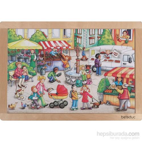 Beleduc Alışveriş Puzzle 41X28 Cm