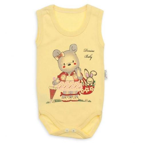Modakids Donino Baby Kız Bebek Askılı Body 019-3075-001