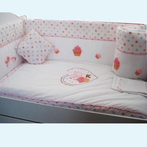 Aybi Baby Cupcake Bebek Uyku Seti 70X130