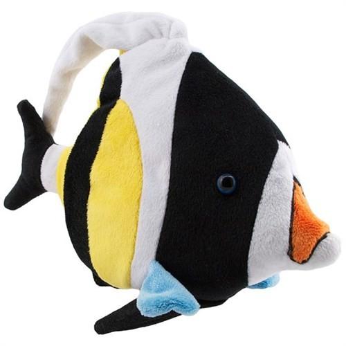 Neco Plush Siyah Beyaz Balık Peluş Oyuncak 54 Cm