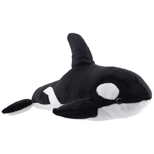 Neco Plush Siyah Balina Peluş Oyuncak 30Cm