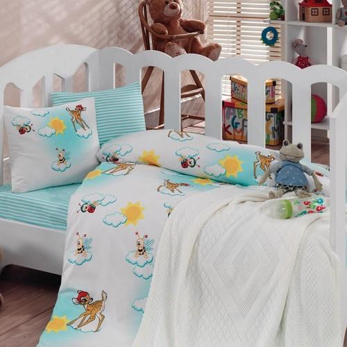 Cotton Box 2050 Battaniyeli Bebek Nevresim Takımı