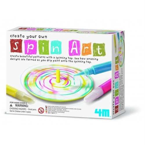 Spin Sanatı -Create Your Own Spin Art
