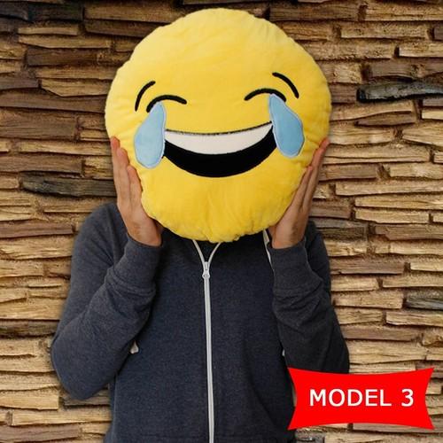 Bluezen Gülen Surat Emoji Yastık