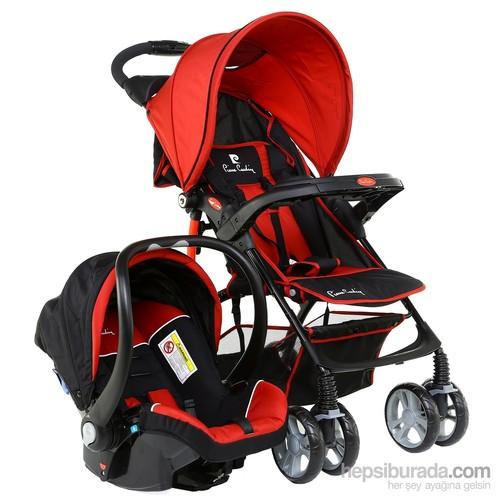 Pierre Cardin Ps406 Lyon Travel Bebek Arabası Kırmızı