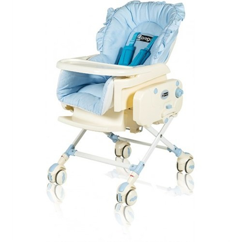 Prego Bambino Elektrikli Mama Sandalyesi - Mavi