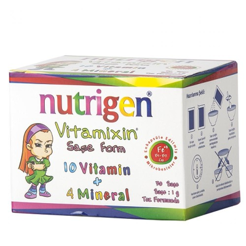 Nutrigen Vitamixin Saşe Form