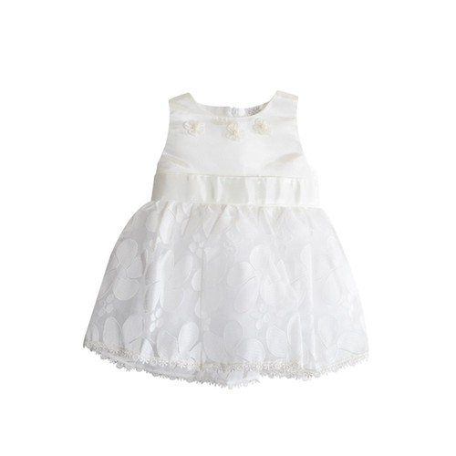 Beyaz Kelebek Kız Çocuk Elbise