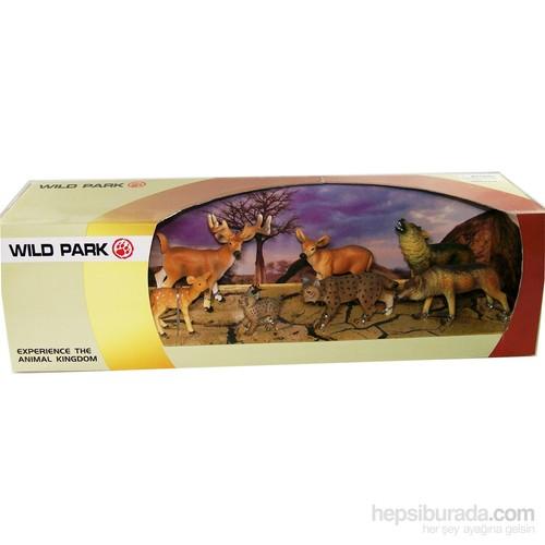 Cc Oyuncak Wild Park Kutuda Yedi Parça Karışık Hayvanlar