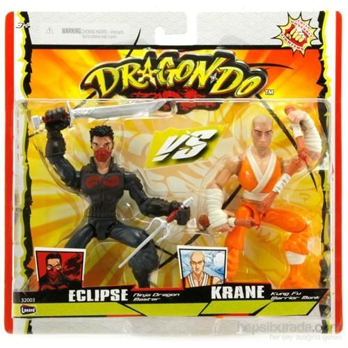 Dragon-Do Ninja V.S Kung Fu İkili Figür 15 Cm