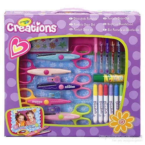 Crayola Fantezi Dekor Süsleme Seti