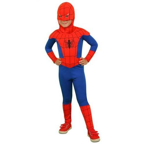 Mega Oyuncak Spiderman Örümcek Adam Kostümü Orjinal 10-12 Yaş