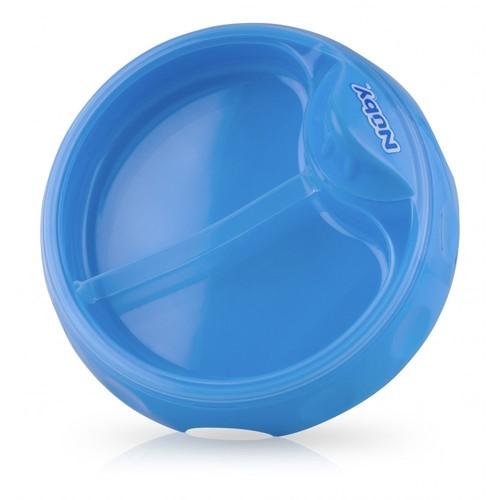 Nuby 5412 Isı Koruyucu Tabak Mavi