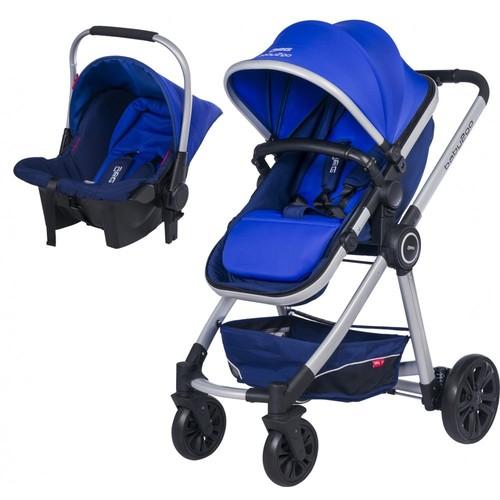 Baby2Go 6033 Power Travel Puset - Mavi