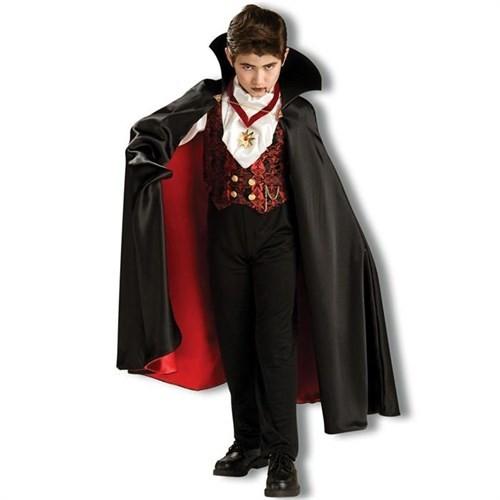 Vampir Çocuk Kostümü Lüks 8-10 Yaş