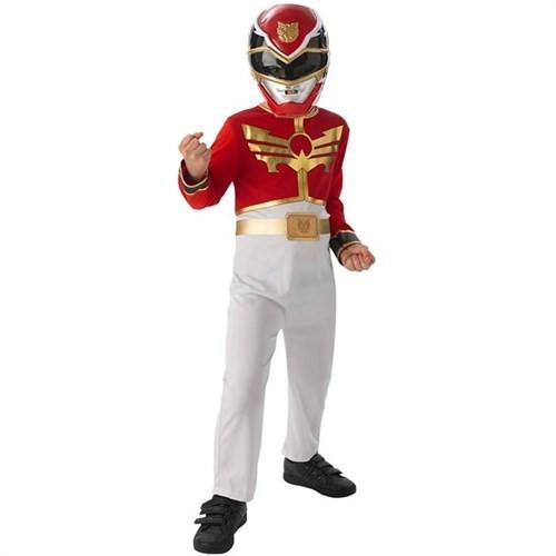 Power Rangers Red Ranger Çocuk Kostümü (127-137 Cm)