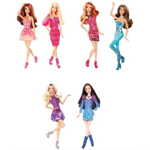 Barbie Fashionistas Süper Modeller