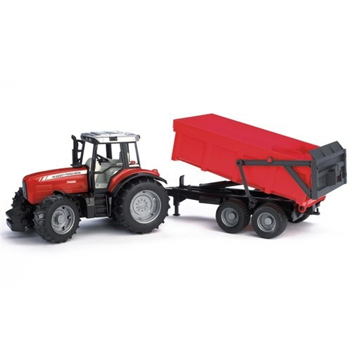 Bruder Massey Ferguson 7480 Traktör & Römork İş Makinası