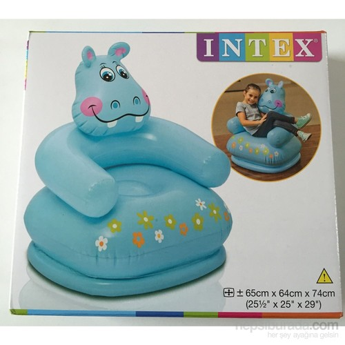 İntex 68556 Hipopotam Figürlü Çocuk Koltuğu