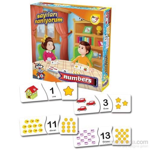 Kırkpabuç Sayıları Tanıyorum Eğitici Kutu Oyunu