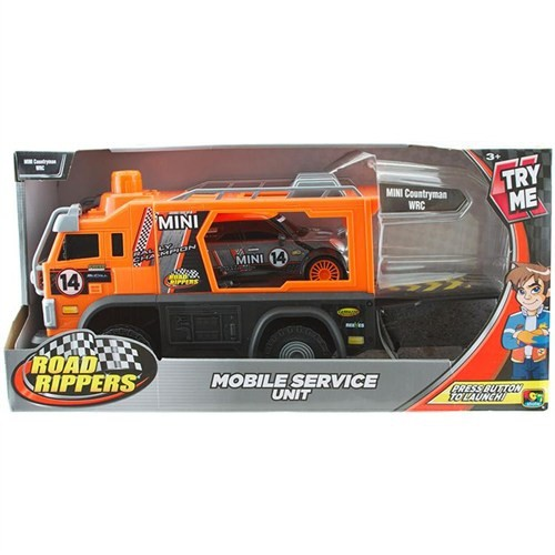 R.R Mobil Servis Aracı Mini Countryman Araç Seti