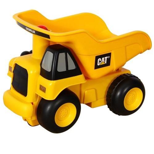 Cat Bas Gitsin Sesli Ve Işıklı Dump Truck İş Makinası