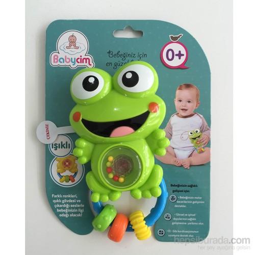 Toyshome Işıklı,Sesli,Müzikli Kurbağa Çıngırak