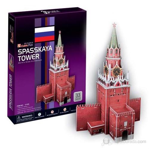 Cubic Fun 3D 33 Parça 3 Boyutlu Puzzle Spasskaya Tower