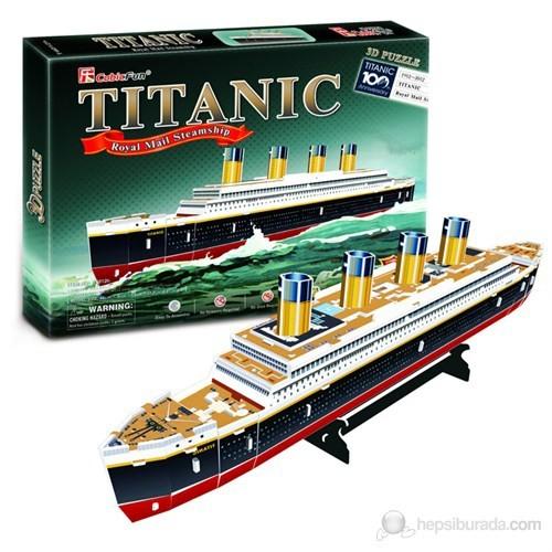 Cubic Fun 3D 35 Parça 3 Boyutlu Puzzle Titanic Gemi