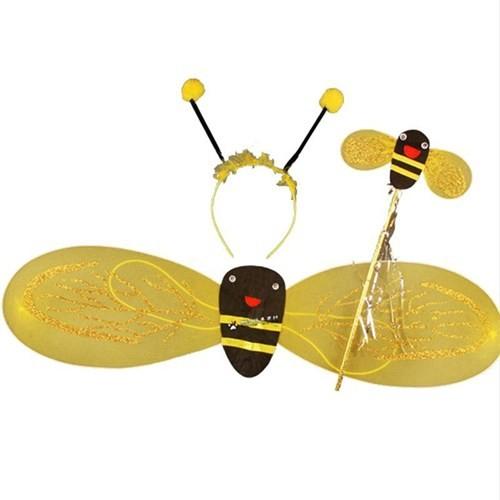 Pandoli Sarı Siyah Benekli Arı Kanadı Seti