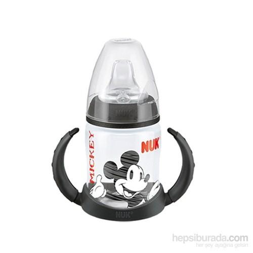 Nuk Disney Mickey FC PP Learner Biberon 150 ml / Siyah