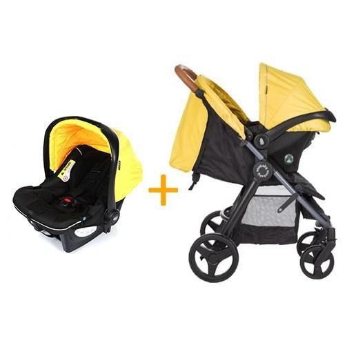 Soo Baby Explora Seyahat Sistem Bebek Arabası / Sarı