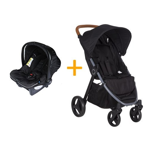 Soo Baby Explora Seyahat Sistem Bebek Arabası / Siyah