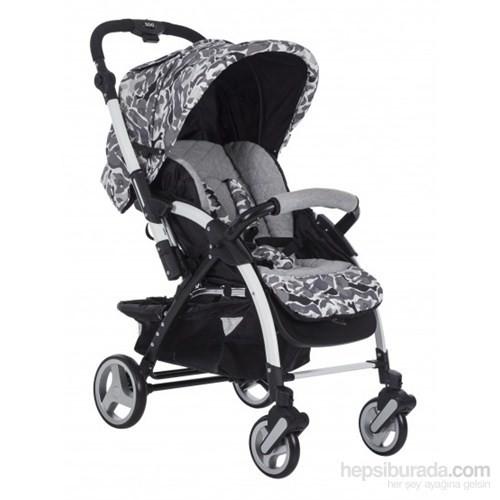Soo Baby Menago Little Army Çift Yönlü Bebek Arabası