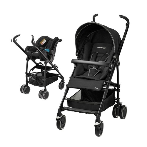 Bebe Confort Maia Travel Sistem Bebek Arabası Black Raven