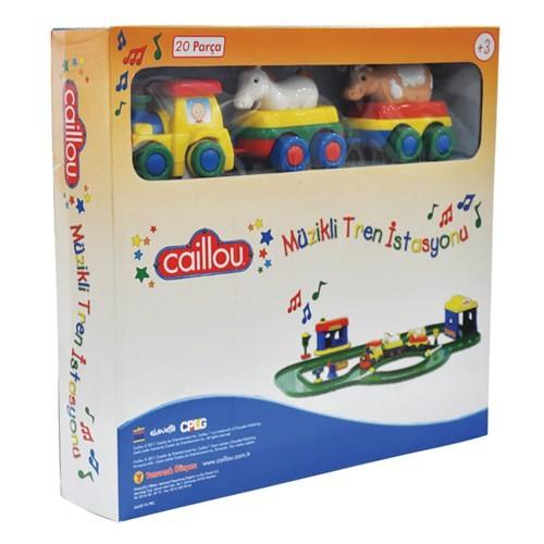 Caillou Müzikli Tren Seti / 20 Parça