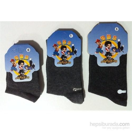Bbs Likralı Topuk Burun Takviyeli Çorap 104-3