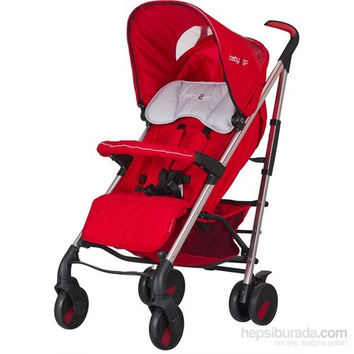 Baby2Go 86031 Supreme Bebek Arabası Kırmızı