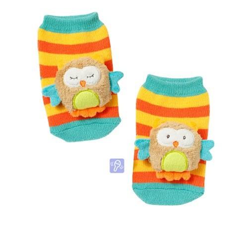 Baby Fehn Çıngıraklı Çorap Baykuş