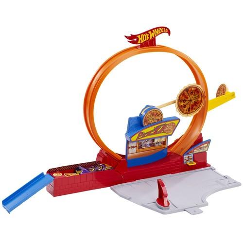 Hot Wheels Gösteri Dünyası Speedy Pizza Oyun Seti