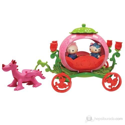 Hello Kitty Ejderha Ve Lüks Arabası Oyun Seti