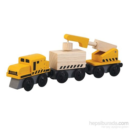 Plantoys Vinçli Tren (Crane Train)