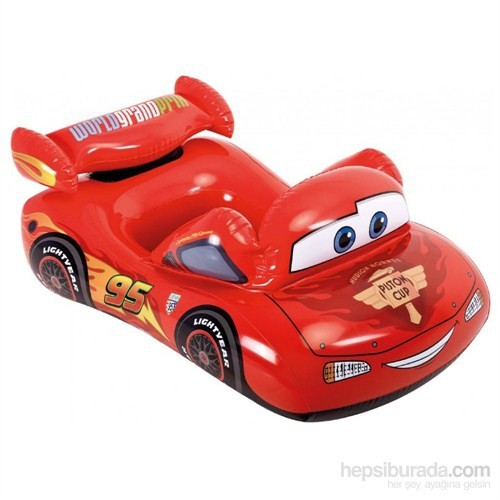 Intex Cars Havuz Binici 109X66 Cm.