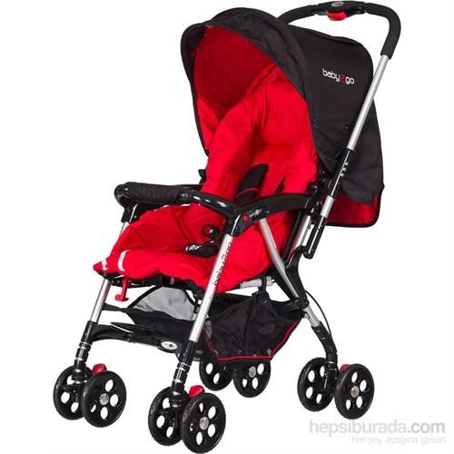 Baby2Go 8899 Proton Bebek Arabası Kırmızı