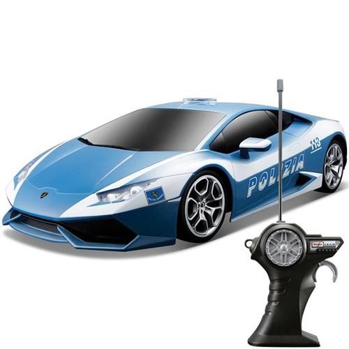 Maisto Tech Lamborghini Huracan Lp 610-4 Polizia R/C 1:24