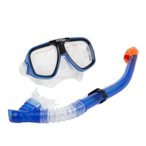 İntex Mavi Şnorkel Seti / Deniz Gözlüğü