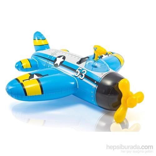 İntex Su Atan Uçak Binici (Mavi) 132 X 130 Cm